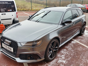 Audi RS6 required a new car detail.
