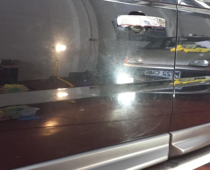 Range Rover Sport passenger door