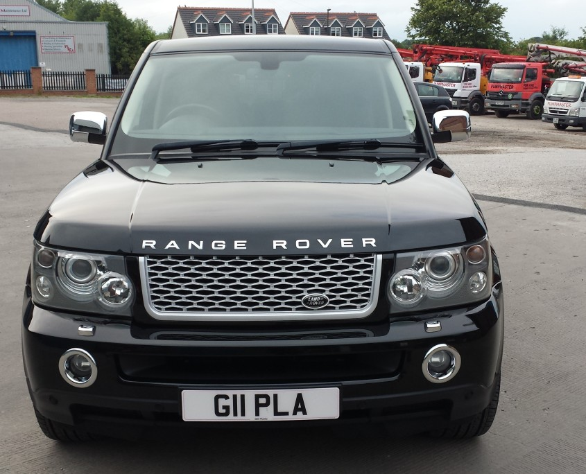 Range Rover Sport bonnet outside