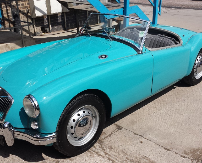 1957 MGa full view